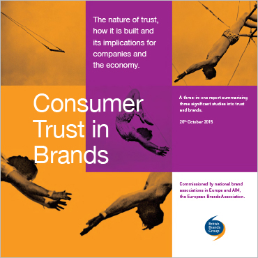 Brands and Consumer Trust summary report