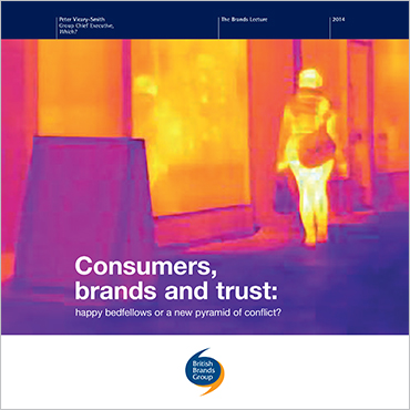 Consumers, brands and trust: happy bedfellows or a new pyramid of conflict?
