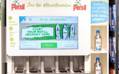 Unilever Expands Refill Trials #WhatBrandsDo